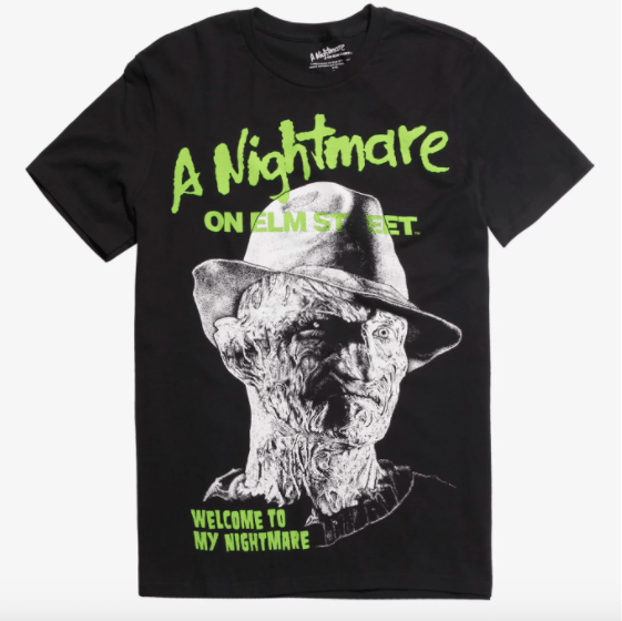 nightmare on elm street tshirt gifts for horror lovers