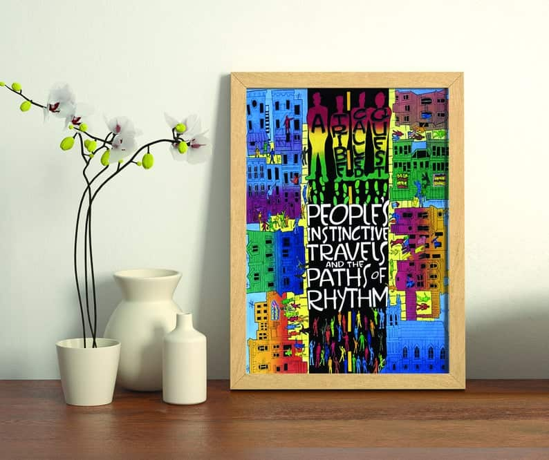 a tribe called quest poster rap gifts