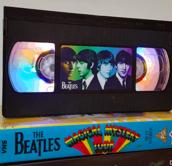 Magical Mystery Tour Beatles VHS night light