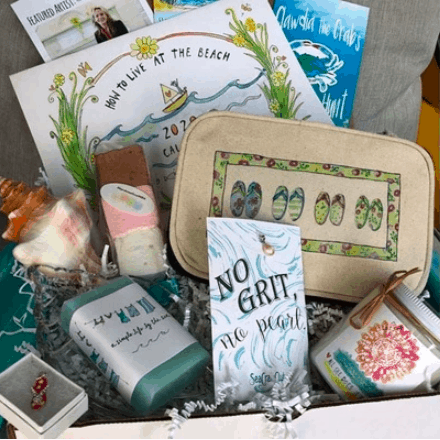 SeaCrate subscription box for beach lovers