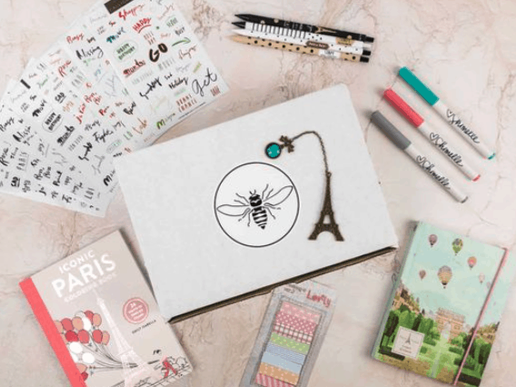 busy bee stationary gifts for writers
