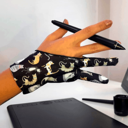 digital artist glove