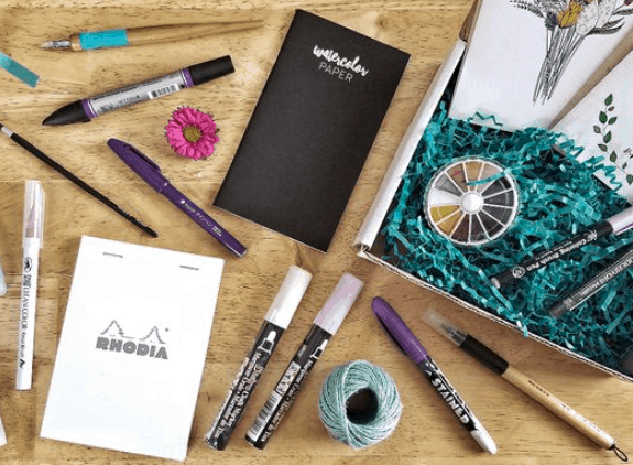inky box gifts for writers