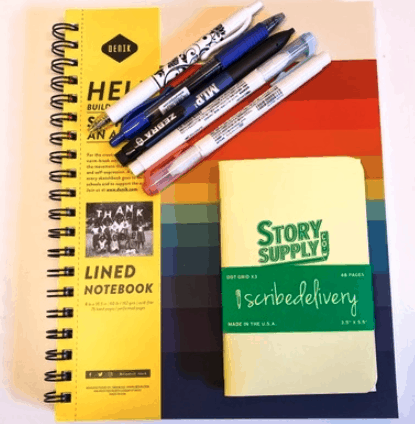 scribedelivery gifts for writers