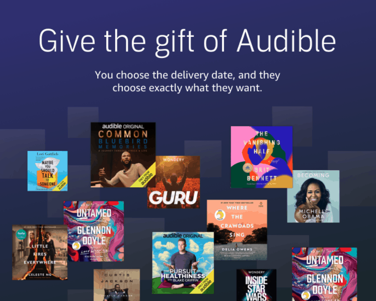 Audible gifts for truckers