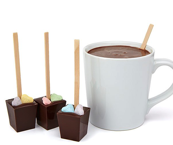 Hot Chocolate Sticks Quinceanera Gifts