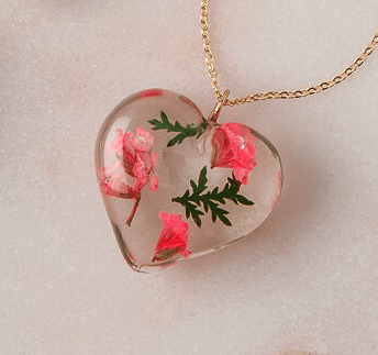 birth flower necklace quinceanera gifts