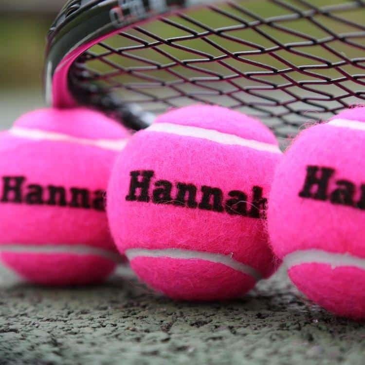 personalized tennis balls gift ideas for tennis players